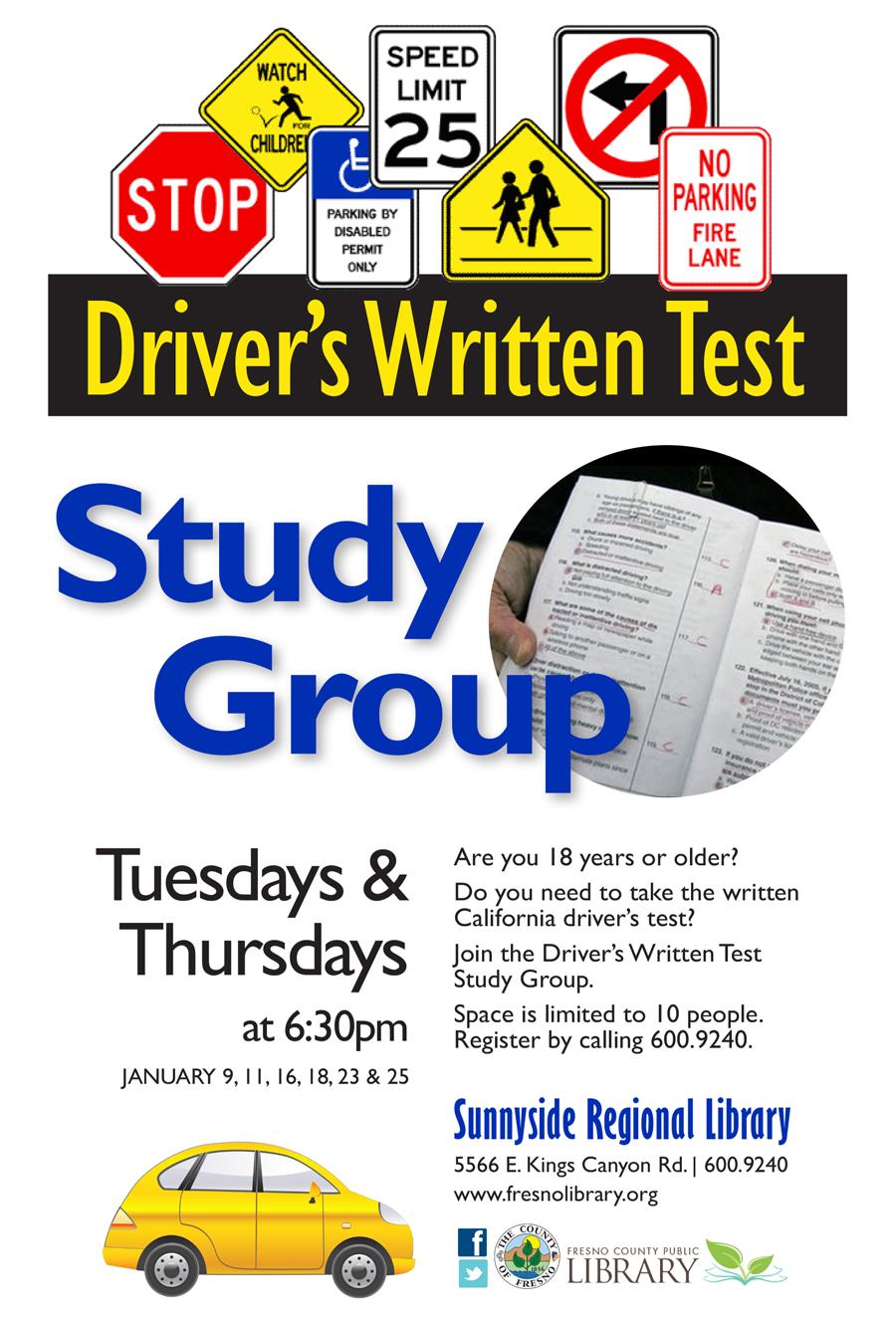 Driver's Written Test Study Group