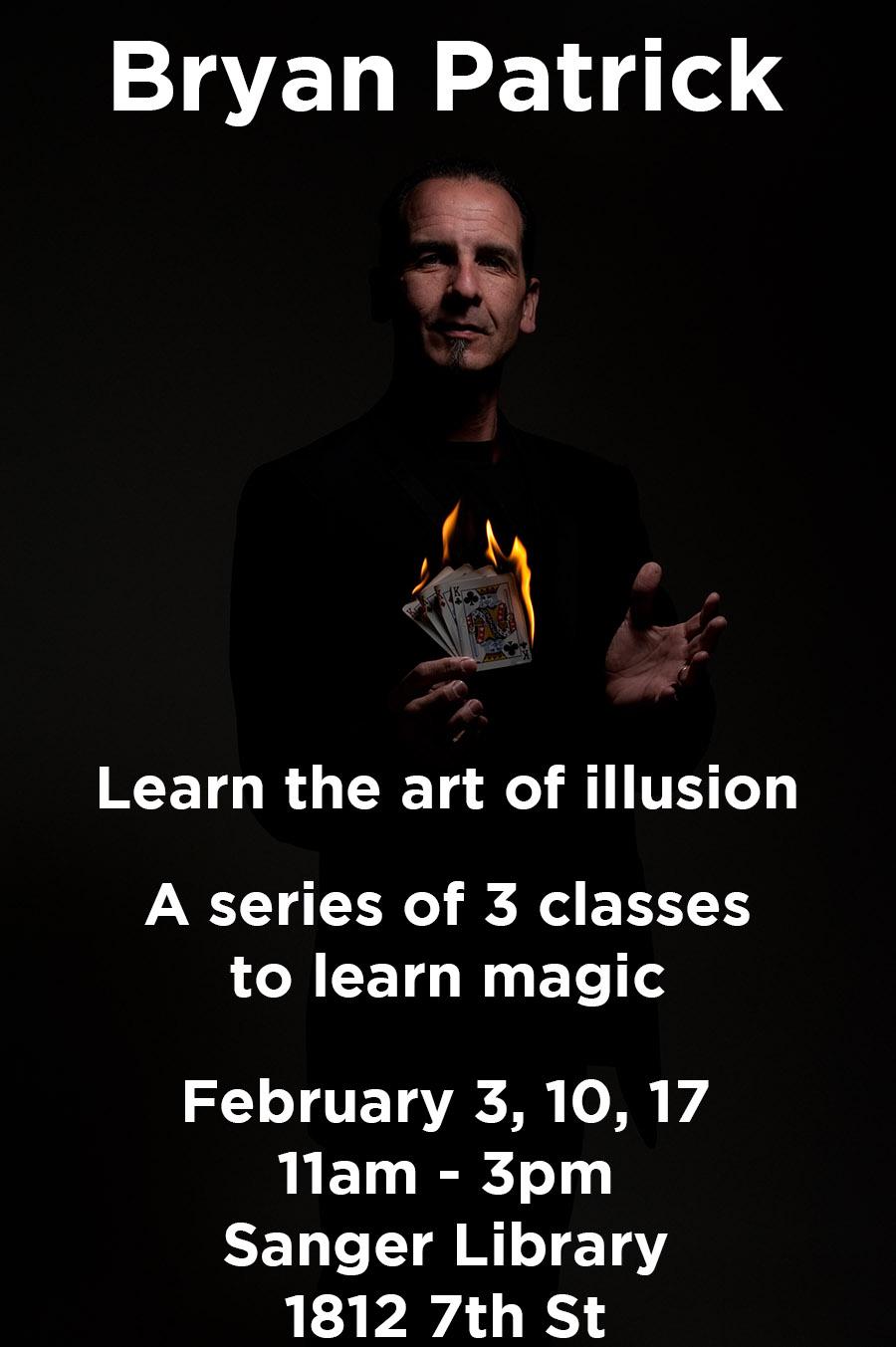 Learn Magic with Bryan Patrick