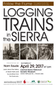 Logging Trains in the Sierra