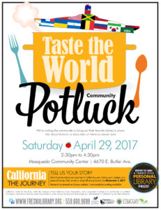 Taste the World Potluck