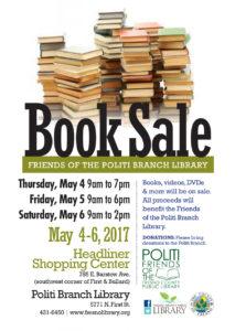 Politi Branch Book Sale