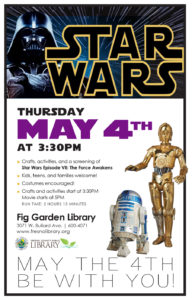 May the 4th, Fig Garden