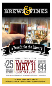 Brews & Vines in the Library