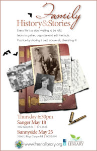 Family Histories and Stories
