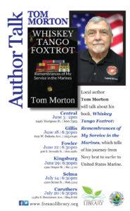 Author Talk, Tom Morton