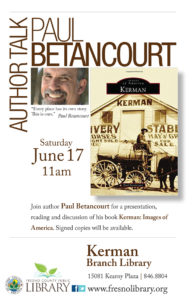 Author Talk, Paul Betancourt