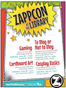 Zappcon at the Library