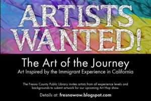 Artists wanted for upcoming Art Hop
