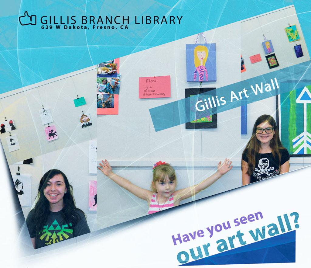 Gillis Branch Art Wall