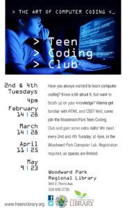 Teen Coding Club