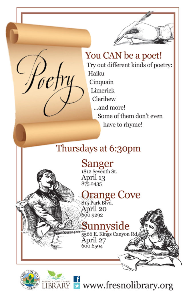 You can be a poet!