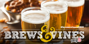 Brews & Vines in the LIbrary 2019