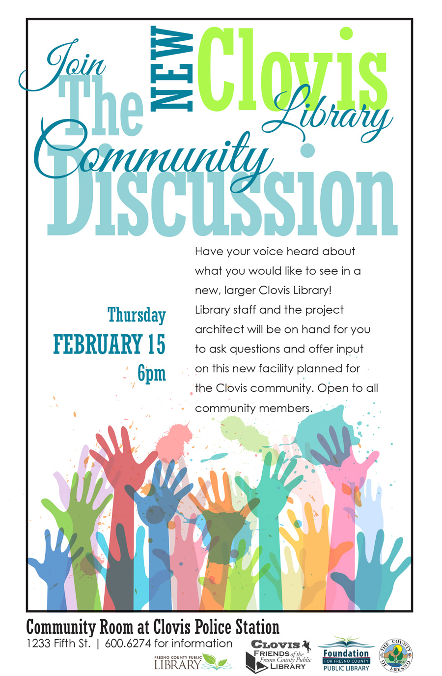 Community Discussion: New Clovis Library