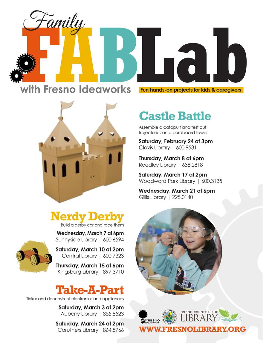 FABLab with Fresno Ideaworks