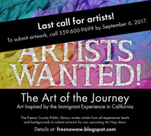 Artists Wanted! Last Call!