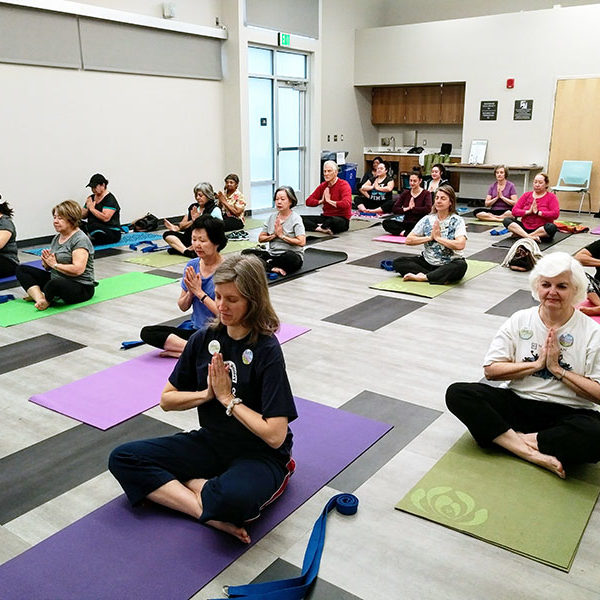 Yoga at Betty Rodriguez Library in Fresno