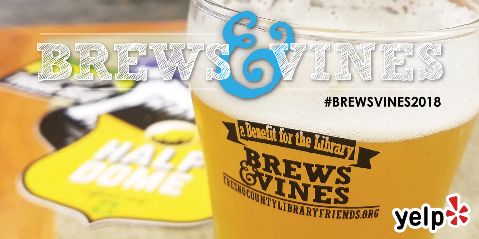 Brews & Vines at the Library, 2018