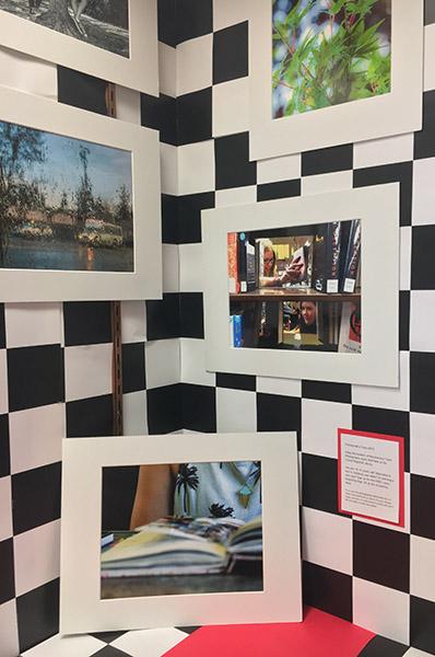 Clovis Library Teen Photo Display