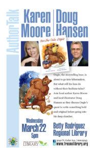 Author Talk with Karen Moore and Doug Hansen