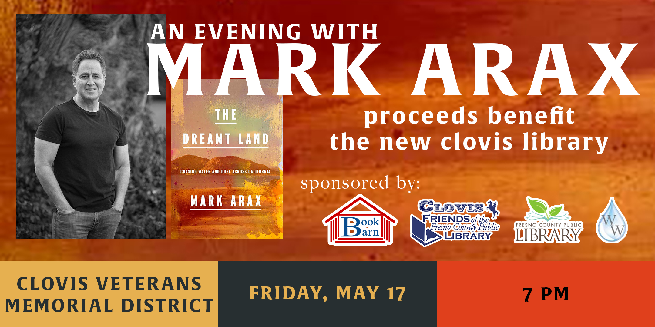 An Evening with Mark Arax