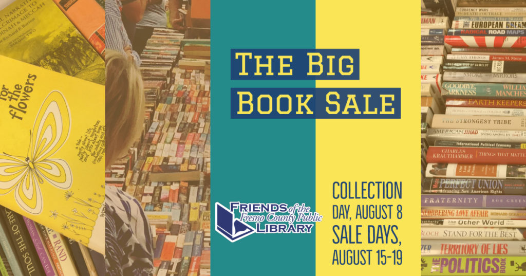 Friends of the Library Big Book Sale