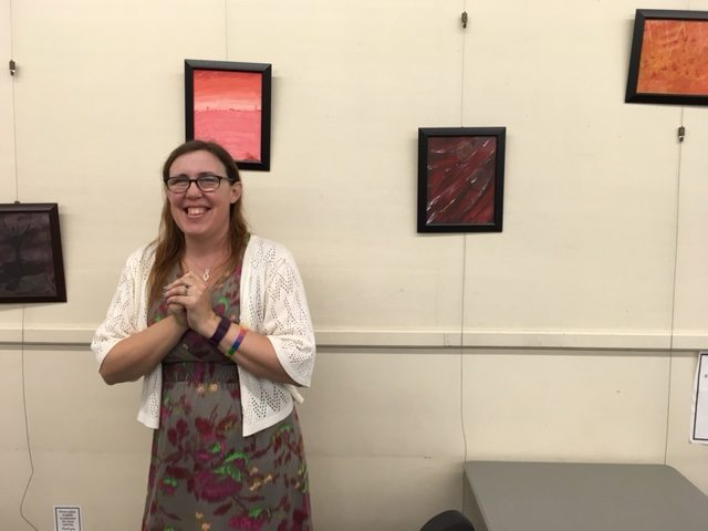 Friends of the Gillis Library Art Wall, Kaylia Metcalfe
