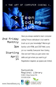 Teen Coding Club